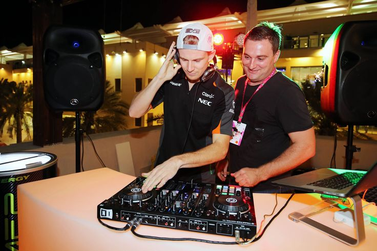 One year ago Dj Hulkenberg was showing off his skills