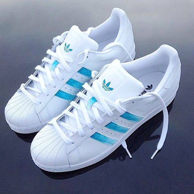 Original  Shoes  Cheap Adidas Original Recreational Canvas Shoes Women Blue