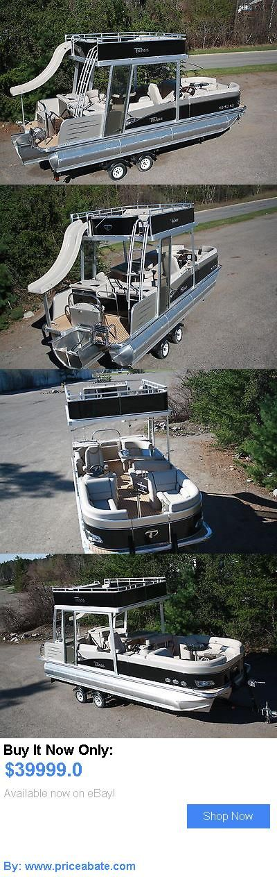 boats: 2015 -New Triple Tube 25 Ft Vista Entertainer Pontoon Boat With Slide- Hpp Tube BUY IT NOW ONLY: $39999.0 #priceabateboats OR #priceabate