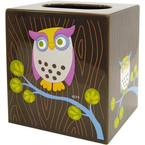 Owl Tissue Box Holder