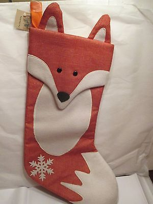 FOX / FOXHUNT CHRISTMAS STOCKING,NEW FOR 2015