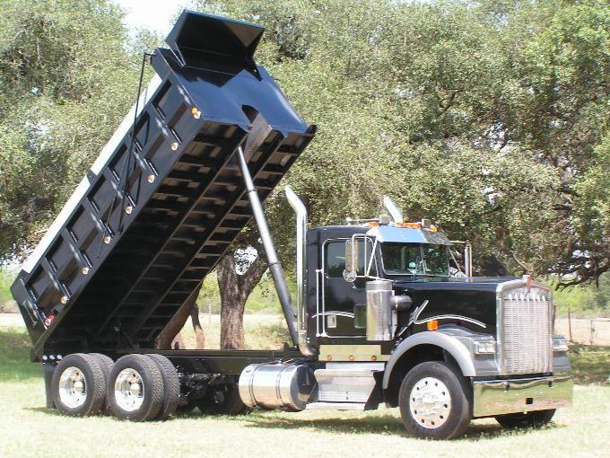 1998 Kenworth W900 Dump Truck