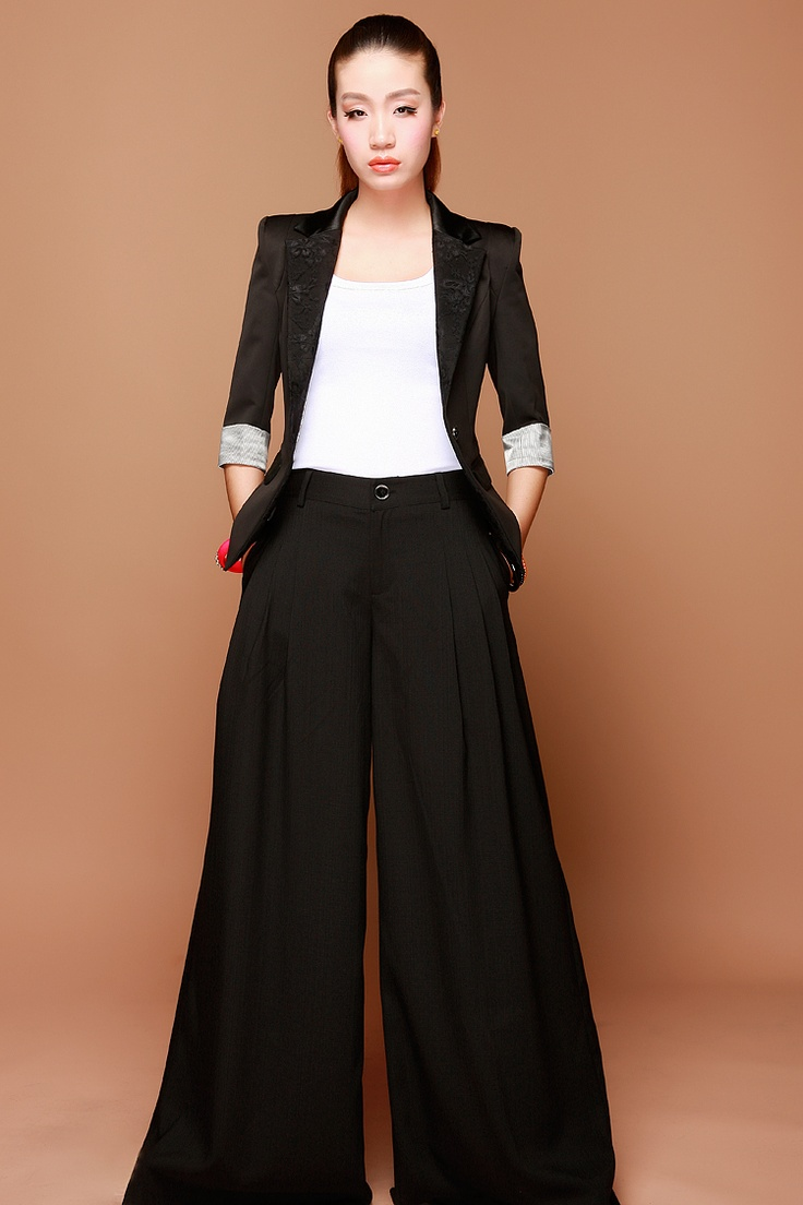 32 best images about Wide leg pants on Pinterest