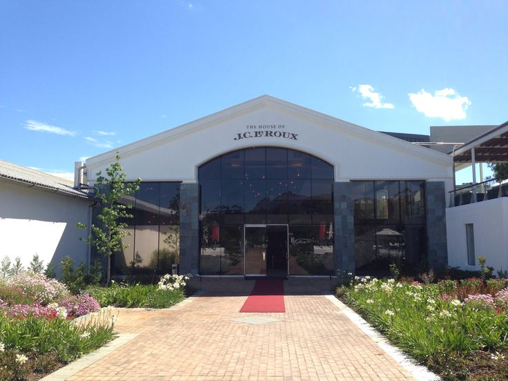 The house of JC le Roux ! The finest sparkling wine in South Africa !