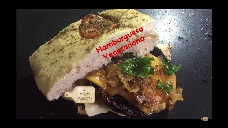 Hamburguesa Vegetariana:   En este video podrás ver una receta sencilla para preparar un deliciosa Hamburguesa Vegetariana.   Te invitamos a suscribirte en nuestro canal de Youtube: Los Ingredientes. https://www.youtube.com/channel/UCNoxMvQ4SOfYGX9hNrrq-Jg?sub_confirmation=1