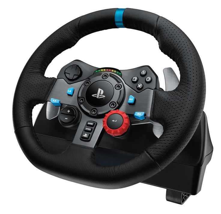 Logitech G29 Driving Force - Force Feedback Gaming Steering Wheel