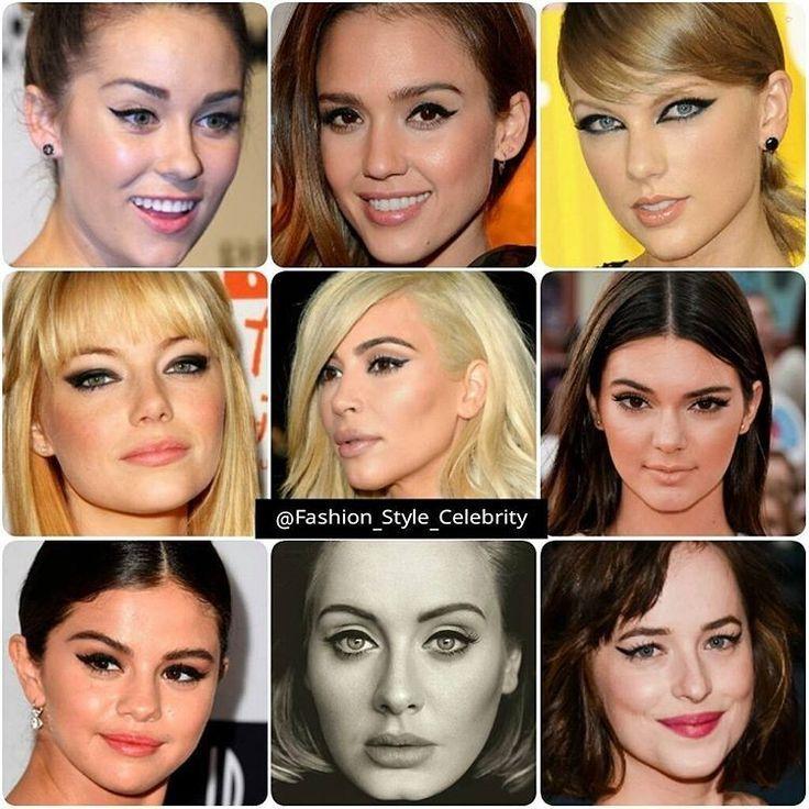 WINGED EYELINER IDEAS FOR NEW YEARS EVE#laurenconrad#jessicaalba#TaylorSwift#emmastone#kimkardashian#KendallJenner#selenagomez#Adele#DakotaJohnsson#fashion #blogger #wingedeyeliner #eyeliner #cool #eyemakeup #swag #essentials #louisvuitton #bracelet #sevenfriday #music #luxury #instablog #holiday #fashionblogger #limitededition #beauty #makeup... - Celebrity Fashion
