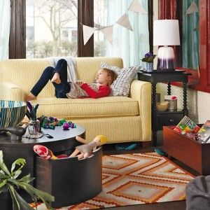 Land Of Nod Coffee/play Table