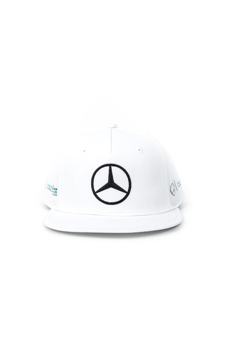 nice Amazing Mercedes Benz Petronas F1 Lewis Hamilton 2017 White Flat Brim Hat 2018 Check more at http://24carshop.com/cars-gallery/amazing-mercedes-benz-petronas-f1-lewis-hamilton-2017-white-flat-brim-hat-2018/