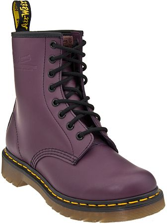 Purple Doc Martens..made in China blah! Need a pair from England.