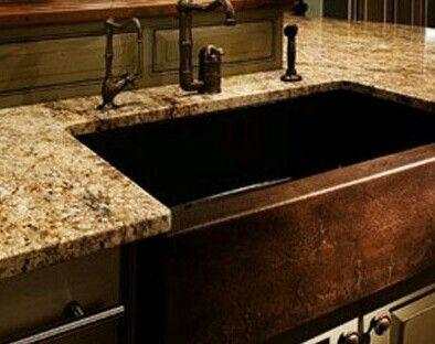 102 best Copper Sinks images on Pinterest | Copper sinks, Kitchen ...