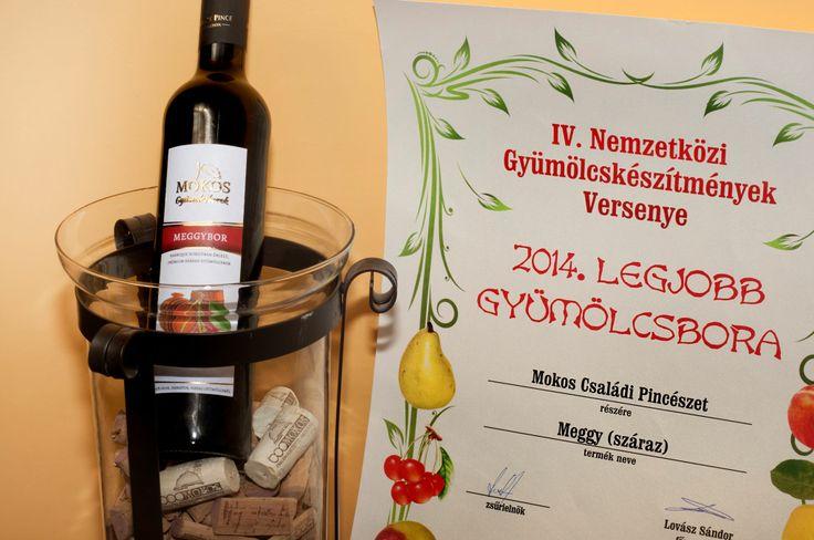 Fruit Wine of 2014: Mokos Barrique Tart Cherry Wine - Az év gyümölcsbora 2014: Mokos Barrique Meggybor
