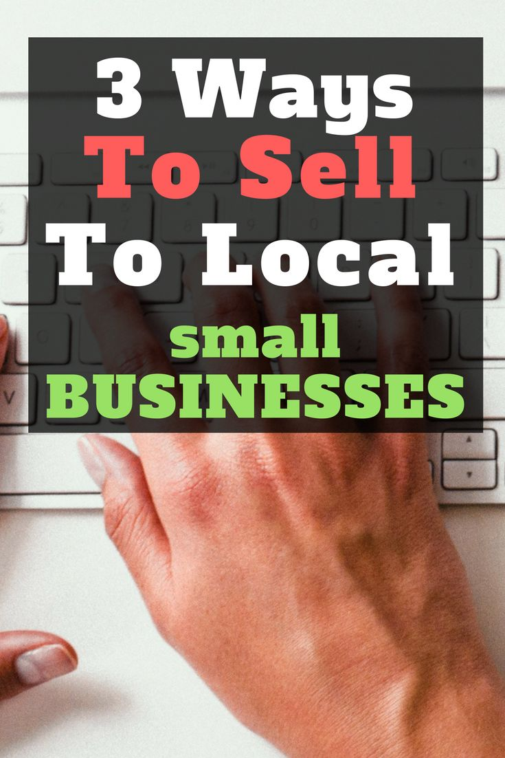 Selling to local businesses is a great way to increase your bottom line, in this…
