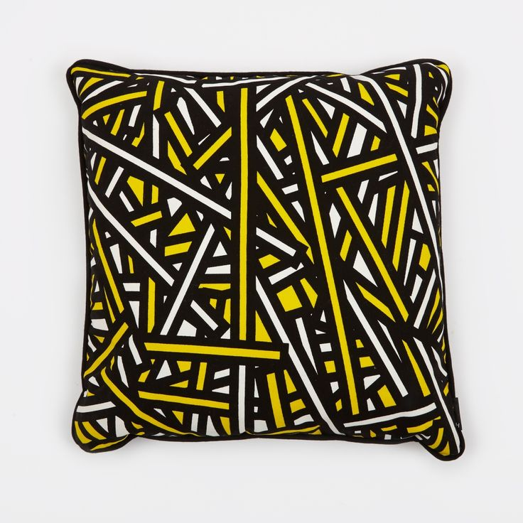HAY Wrong for Hay Printed Cushion 50x50cm- Hay Bale (Image 1)