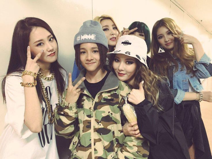 4minute and Punch/Samuel from 1punch