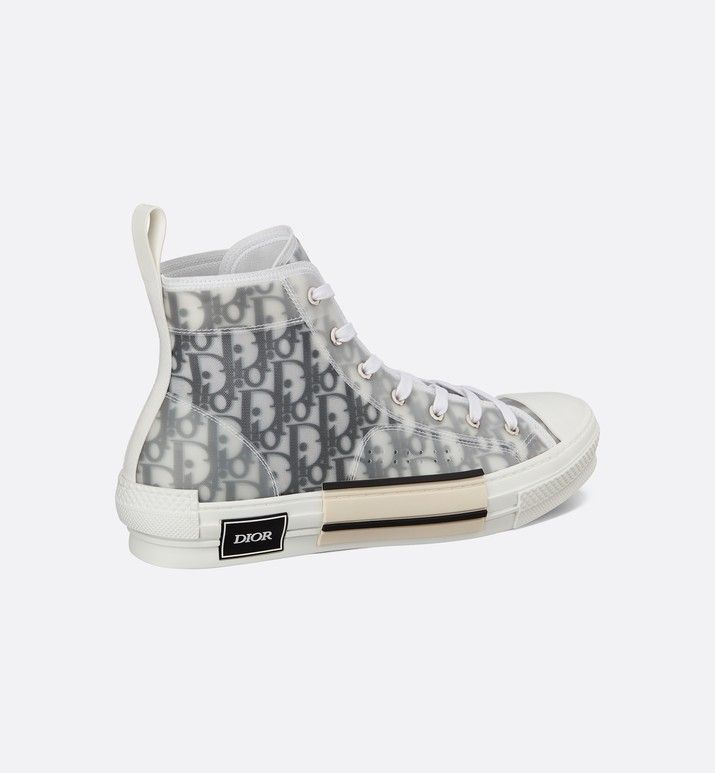 Sneaker haute B23 tissu technique Dior Oblique | Dior ...