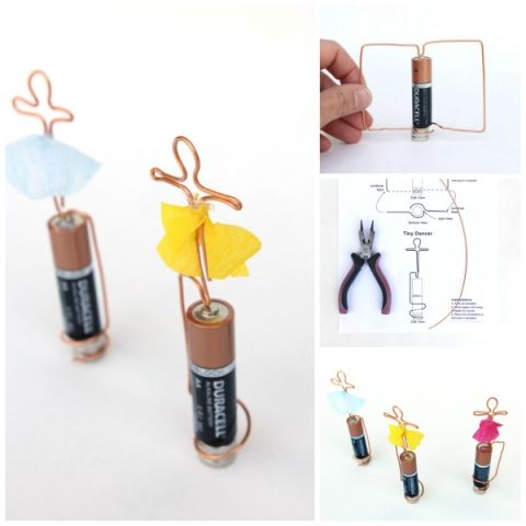 STEAM Challenge: Tiny Dancers (A Homopolar Motor)