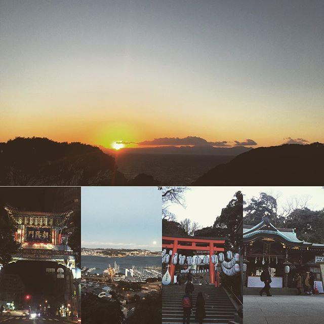 【chi_ro777】さんのInstagramをピンしています。 《神奈川好きだな〜🚕🌴 夕日にめがけて海へ⛵️ 最高なタイミング👍  #神奈川 #江ノ島神社 #参拝 #海 #夕日 #絶景 #タイミング #海の見えるカフェ #太陽 #エネルギー #パワー #横浜 #中華街 #絶景ルート #呑み》