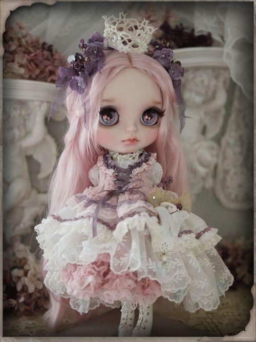 Little princess - custom blythe by Milk Tea