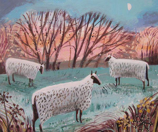 mary sumner Frosty Sheep