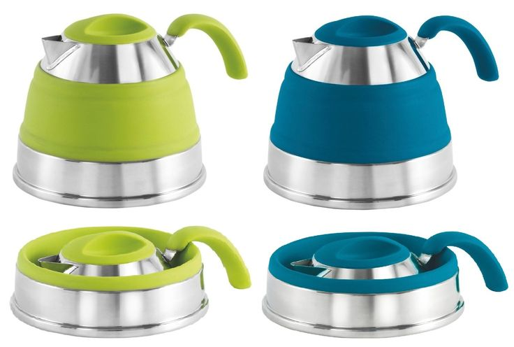 Outwell Collapsible Collaps Camping Kettle | BLUE | Camping & Motorhome Accessoires