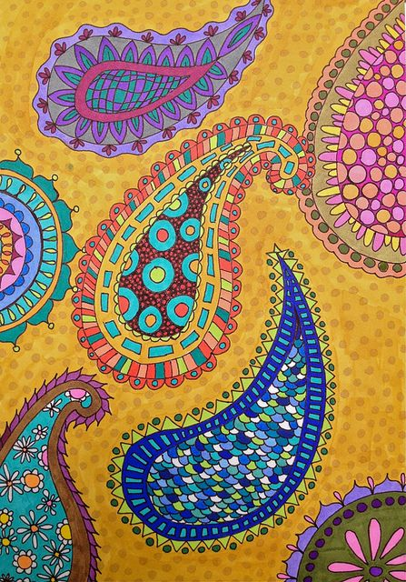 7-14-12 Paisley Doodle | Flickr - Photo Sharing!