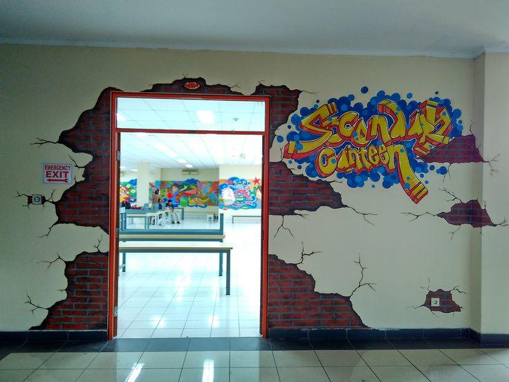 14 Best Mural At Bunda Mulya International School Jakarta Images