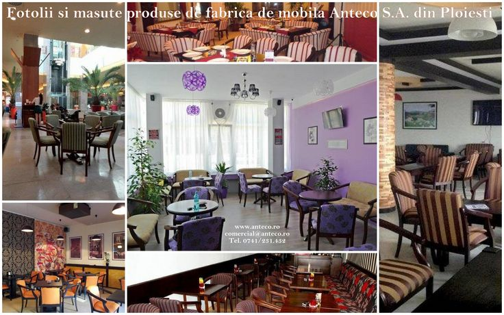 Fotolii produse de fabrica de mobila Anteco S.A. din Ploiesti