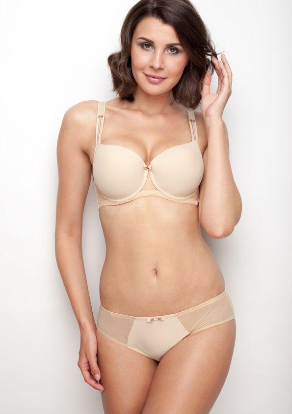 Samanta lingerie - New collection Heka beige bra: A470 pants: B300 www.samanta.eu