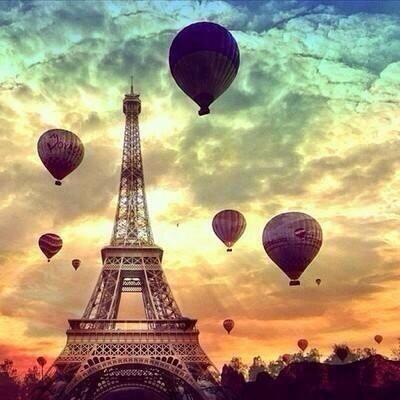 Eiffel, Paris, Perancis.