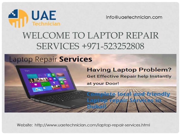 Call UAE Technician +971-523252808 and get professional and cheapest Laptop Repair Services in Dubai with one year warranty. We repair all brands of laptops with the help of new techniques. We have who has high skilled to repair any kind of issue regarding your laptop. If you are searching best and cheapest Laptop Repair Services call us +971-523252808 or visit: http://www.uaetechnician.com/laptop-repair-services.html.