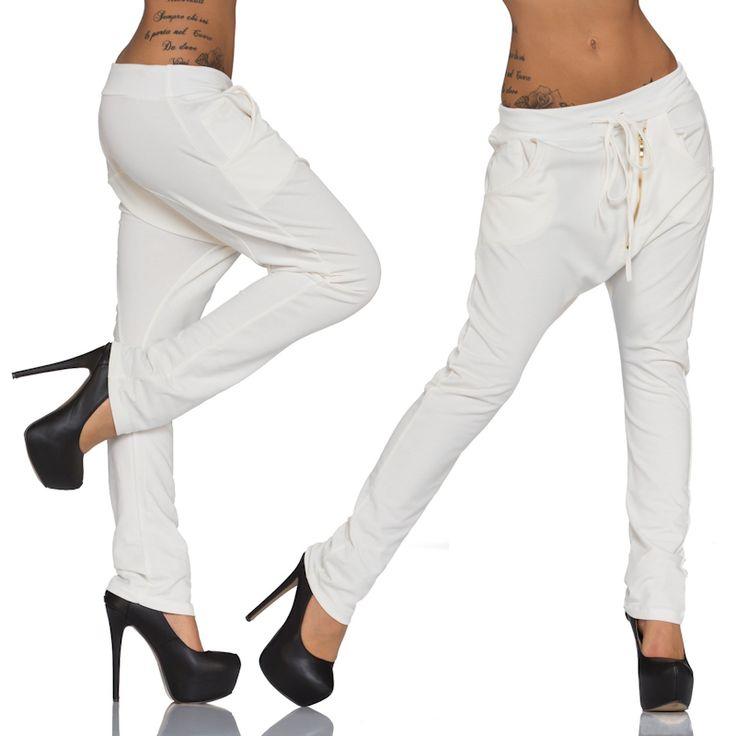 Moda Baggy Bukser  | Amoruccio.dk ♥ Super fede baggy pants med lommer og guld lynlås på tværs. ♥ #modetøj #fashion #shoppingonline #clothing #pants #bukser #leggings #leggingsforwomen #onlinemode #womenswear