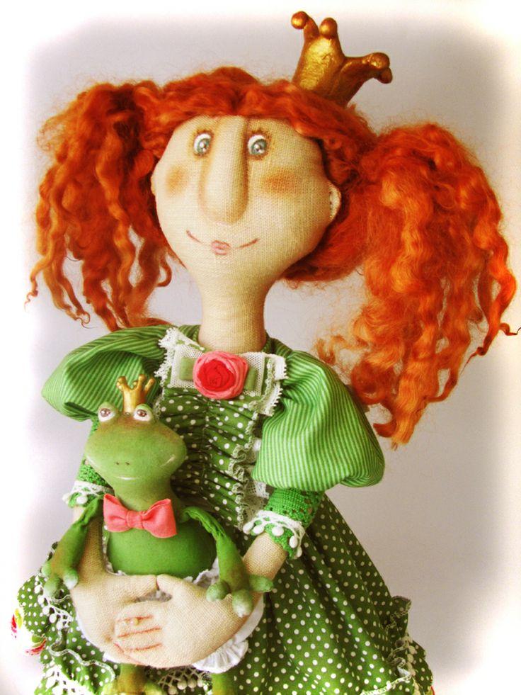 Текстильная кукла ручной работы. Автор Кулибаба Светлана