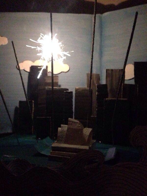 Still from my Sydney opera house NYE fireworks animation