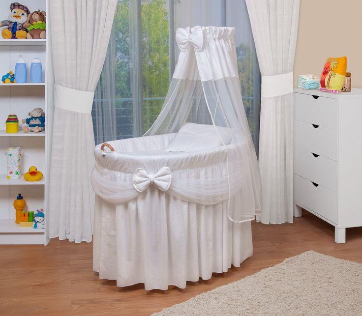 WALDIN Landau/berceau pour bébé avec équipement - 4 coloris disponibles,blanc: Amazon.fr: Bébés & Puériculture