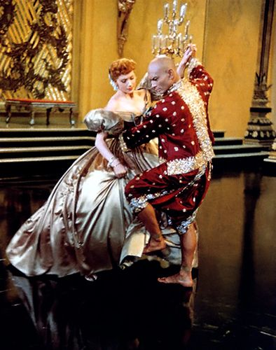 "Deborah Kerr and Yul Brynner in ""The King and I""  (1956)  Yul Brynner - Best Actor Oscar 1956"