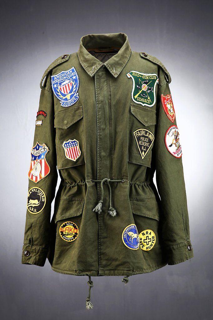 Vintage Patch M65 Feild Jacket