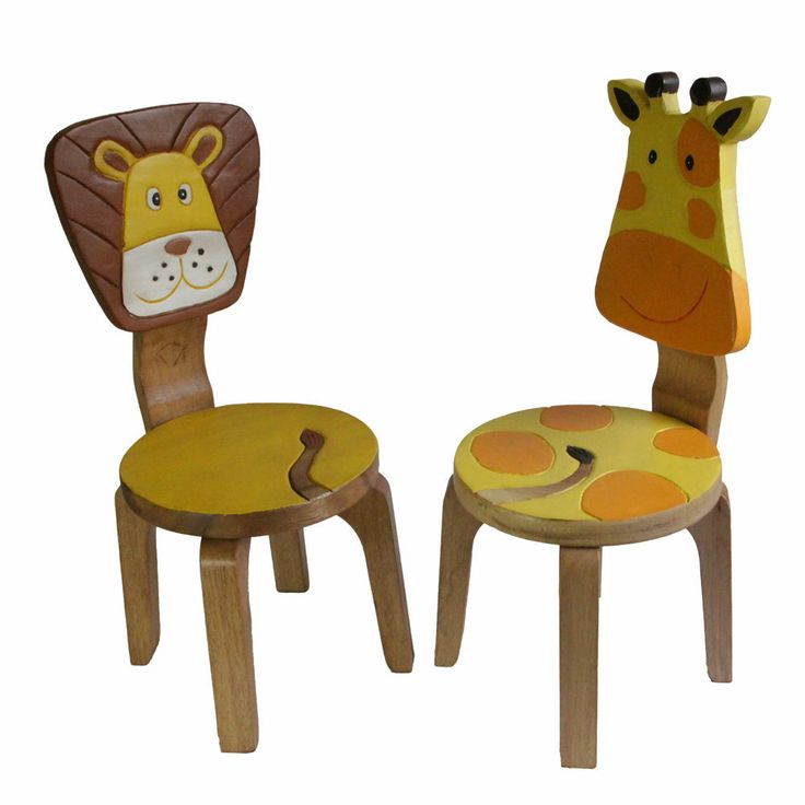 Set Of 2x OSAKA Kids Chairs Solid Wood Timber Designer Play Chairs Sets New