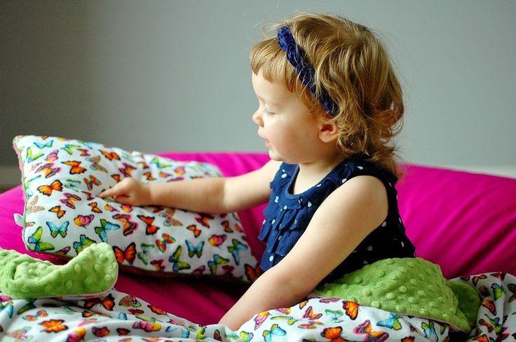 Motylkowa poduszka SOFT  w LilleBird  na DaWanda.com