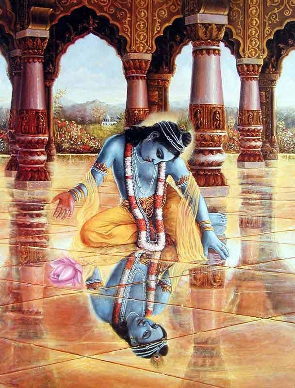 Krishna Reflection