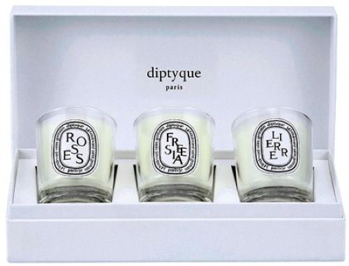 For the hostess    Candle Set by Diptyque