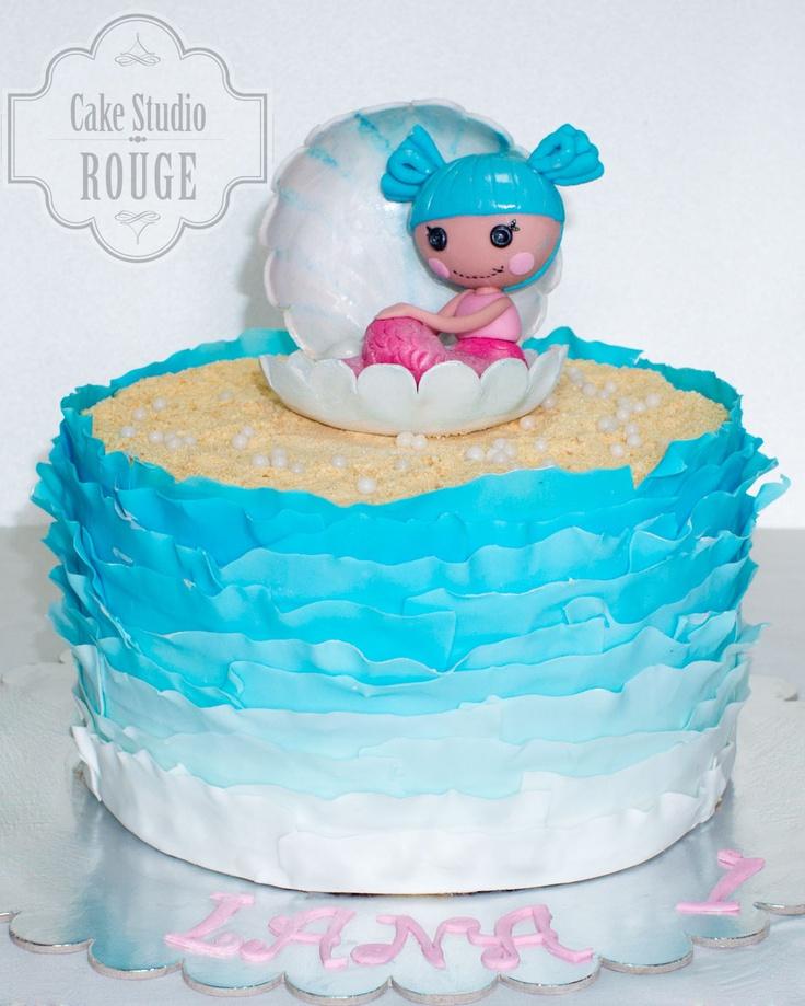 Lalaloopsy Sand E. Starfish cake - Maggie Austin frill technique