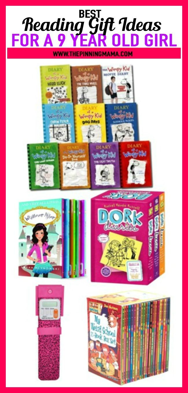 Reading Gift Ideas For A 9 Year Old Girl See 25 Of The