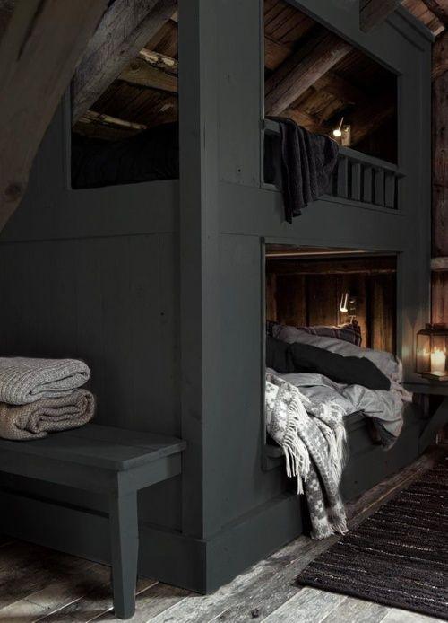 cozy cabin bunks