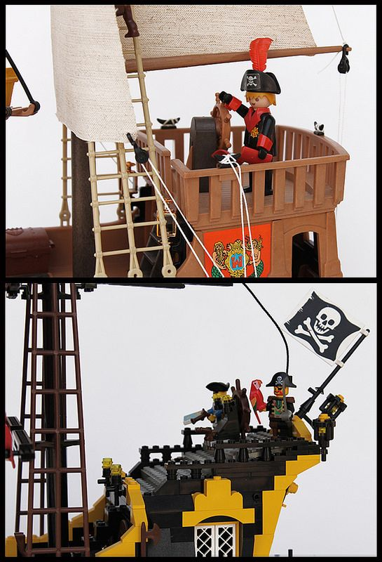 Pirates: Playmobil Vs LEGO