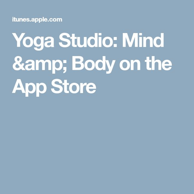 Yoga Studio: Mind & Body on the App Store
