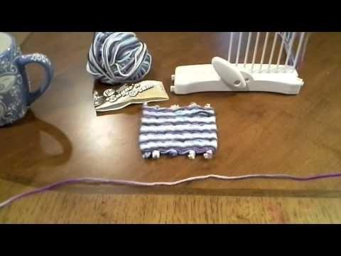 ▶ Loop De Loom COASTER yarn project - YouTube