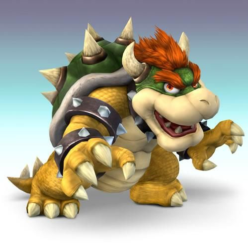 Bowser Ready for Fight from the official artwork set for #SuperSmashBros #Brawl on #Wii. #Mario #Pokemon #SmashBros http://www.superluigibros.com/super-smash-bros-brawl