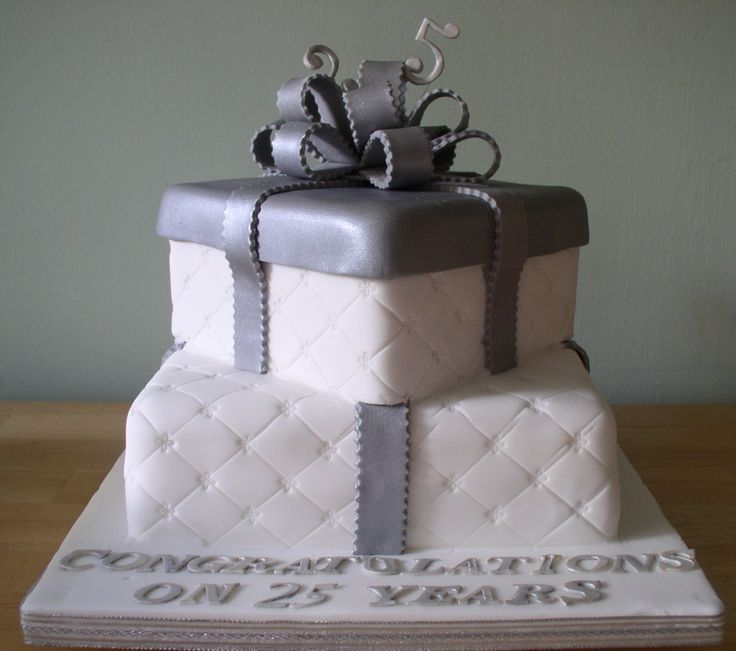 The 25 best 25th anniversary cakes ideas on Pinterest 25th