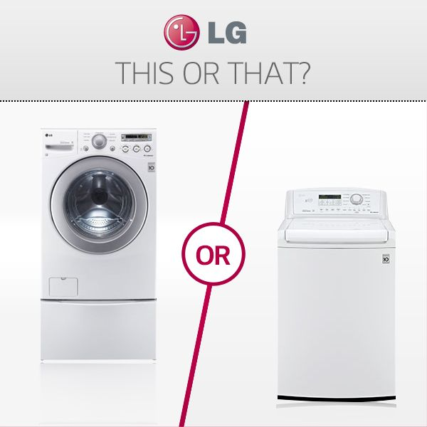 Front load vs. Top load washer: Which do you own?